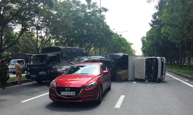 vụ tai nạn trên đại lộ mai chí thọ
