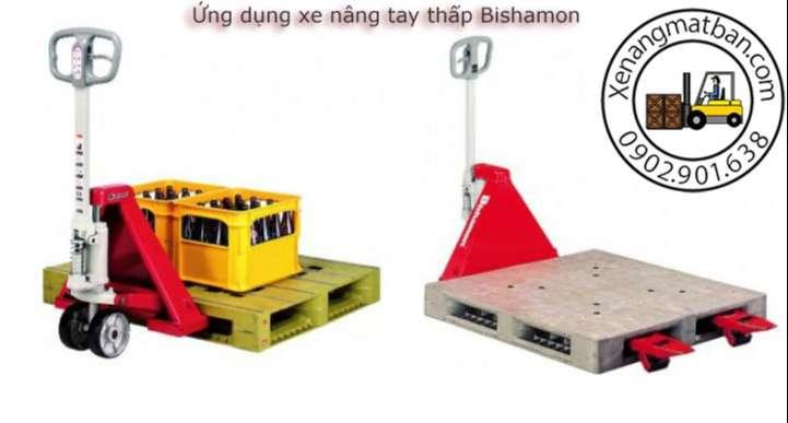 ứng dụng xe nâng tay Bishamon