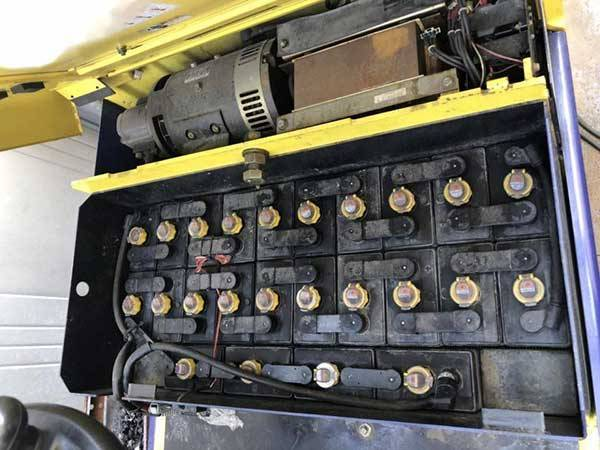 bình điện xe nâng komatsu cũ