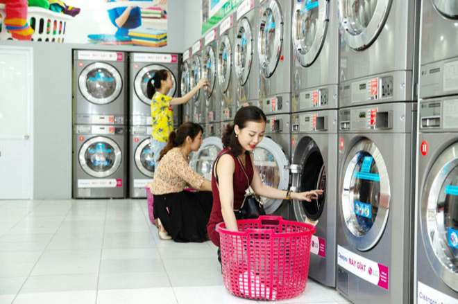 kinh doanh dịch vụ giặt sấy