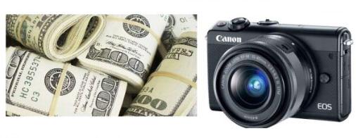 máy ảnh không giương lật