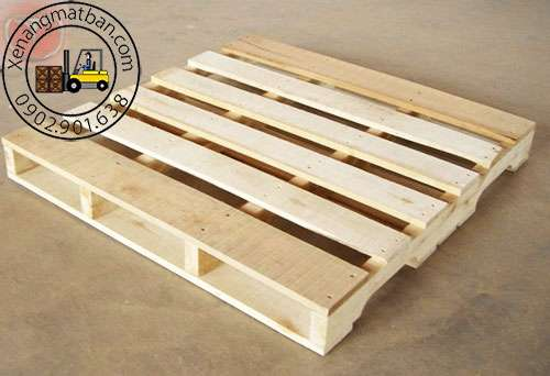 pallet gỗ 2 mặt 2 hướng nâng