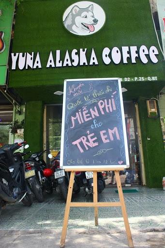 quán cafe yuna alaska