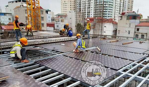 ứng dụng của ván ép trong công trình xây dựng